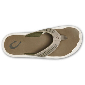 OluKai Ulele Sandals Men clay/mustang